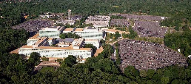 位于弗吉尼亚州兰利的中情局总部