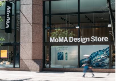 MoMA的设计商店非常有名。/MoMA