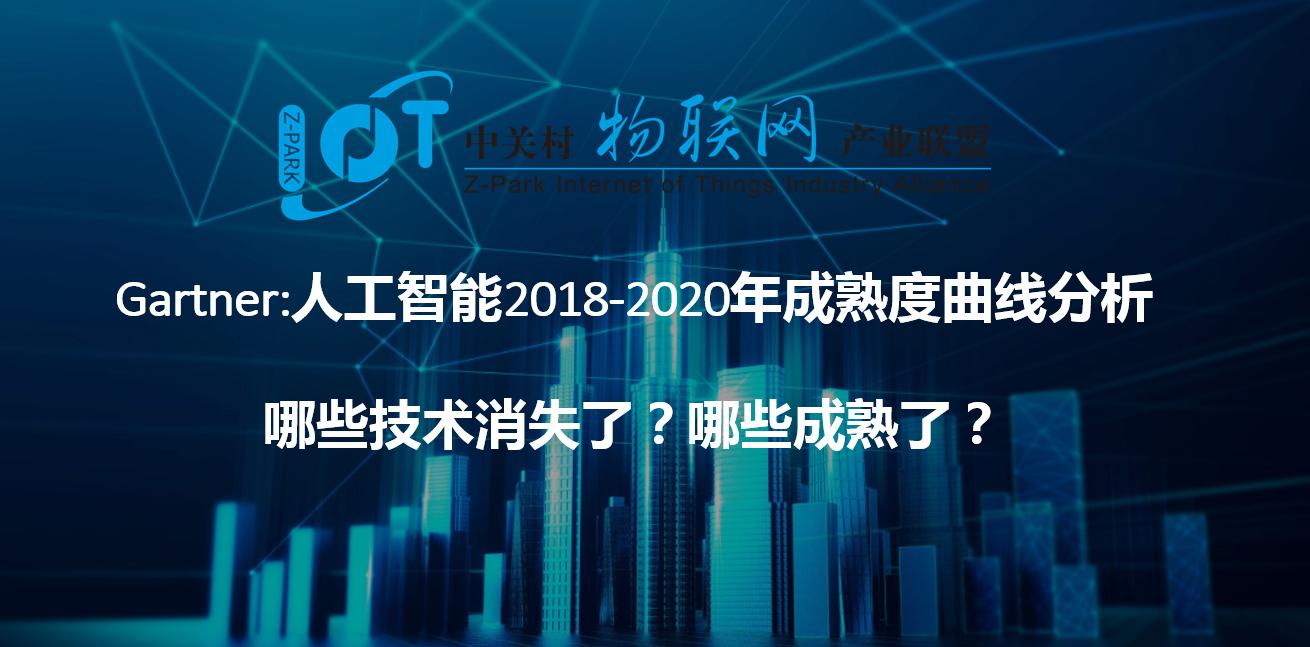Gartner:人工智能2018-2020年成熟度曲线分析