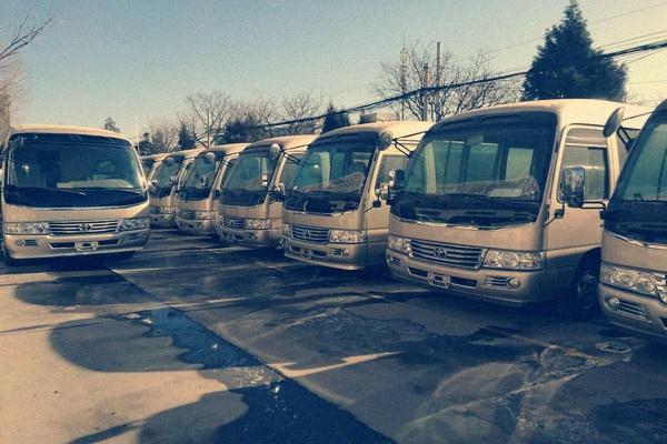 丰田考斯特进口巴士 北京最新售价资讯