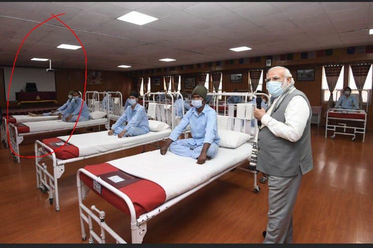 """【博客流量】_莫迪在中印边境列城视察假医院?被批""""天生的骗子"""""""