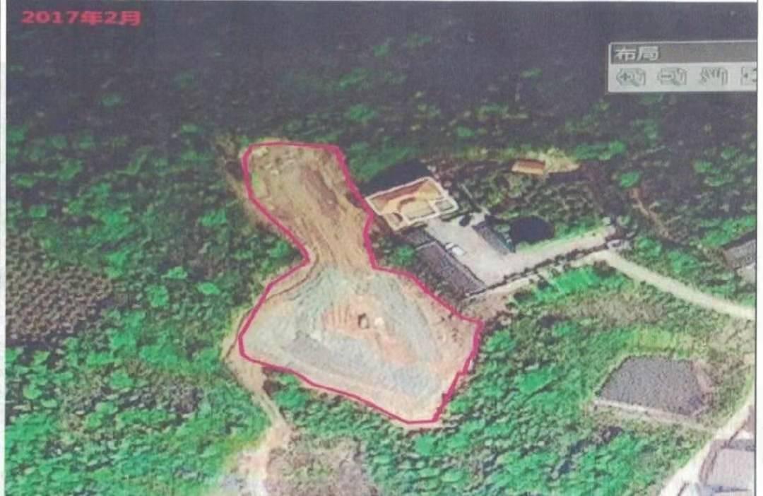 2017年2月卫星鸟瞰图