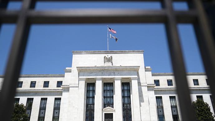 这是7月29日在美国华盛顿拍摄的美国联邦储备委员会大楼。新华社 图