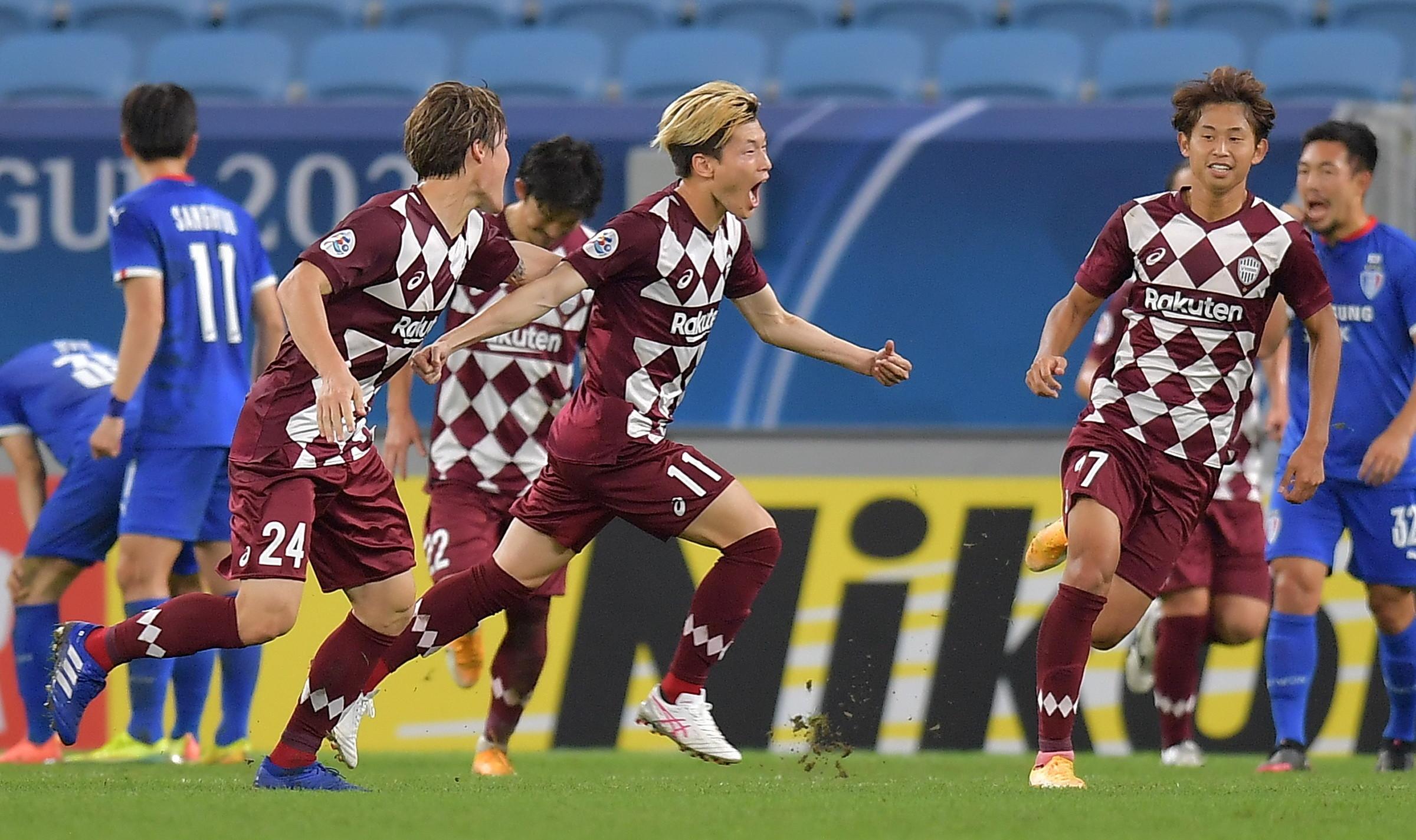 亚冠:神户点球大战胜十人水原晋级东亚决赛