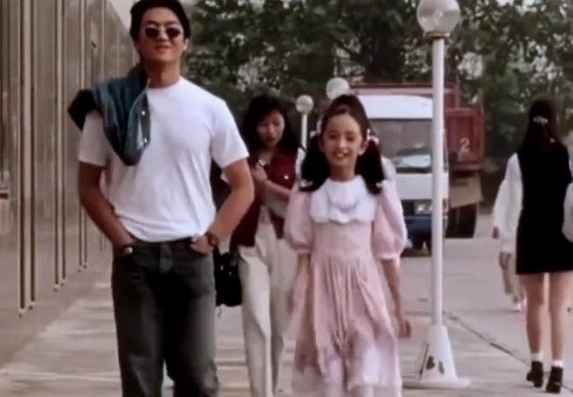 杨幂小时候跟李亚鹏搭过戏?11岁就拥有无敌长腿和大眼睛