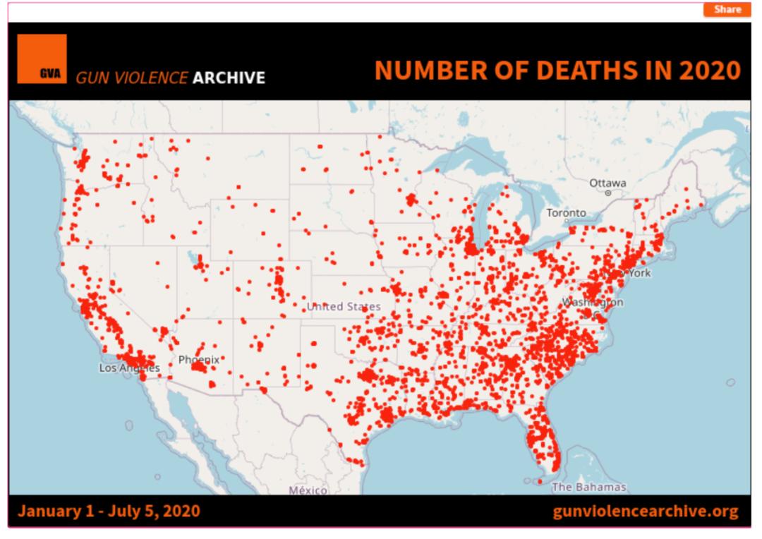 """【a5快猫网址诊断】_美国迎来""""血腥""""国庆假期,枪击案超400起、最小受害者仅6岁"""