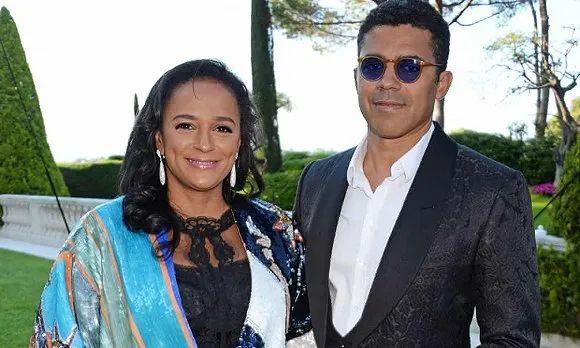 ·伊莎贝尔和丈夫杜库罗(右)