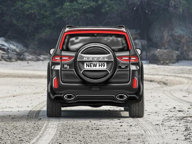 全新哈弗H9曝光,硬派SUV!比普拉多更野性?