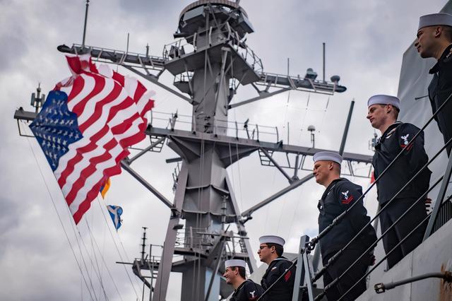 还有两月下台,美海军部长欲重建第一舰队,妄称应对中国威胁