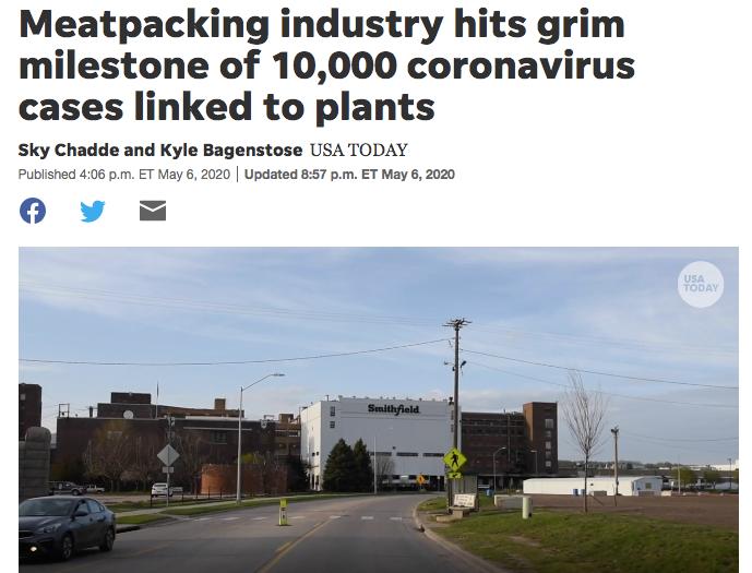 【新乡亚洲天堂】_欧美肉类工厂相继暴发疫情,食品安全有保障吗?