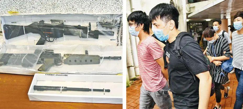 """【死链检测】_私藏""""军火""""以一般罪名拘捕,香港国安法会成摆设吗?"""