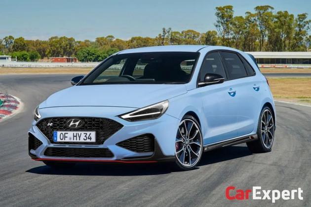 新款现代i30N渲染图曝光 新车有望年内发布