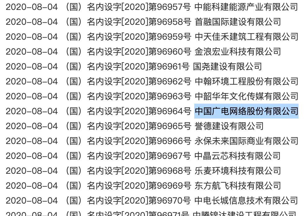 5G巨无霸来了!广电股份已向国家市场监督管理总局申报登记