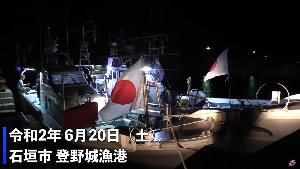 日右翼组织渔船赴钓岛,又被中国海警追击约四小时