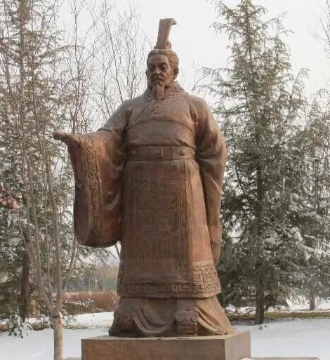 上图_ 秦惠文王(公元前356年—公元前311年),嬴姓,赵氏,名驷,咸阳(今陕西咸阳市)人
