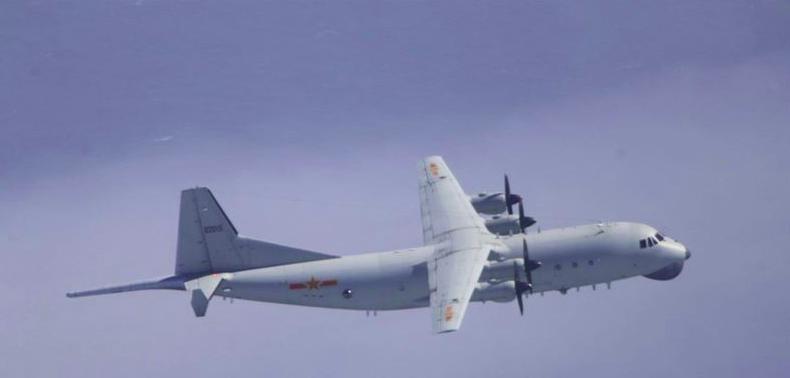 解放军运-8反潜机(资料图)。图源:台湾防务部门官网