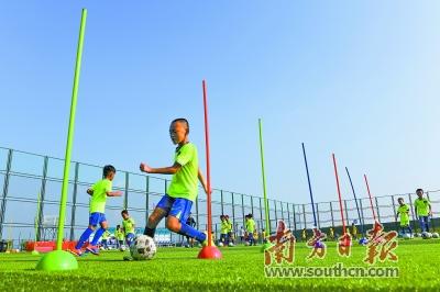校园足球的春天 足球振兴的明天