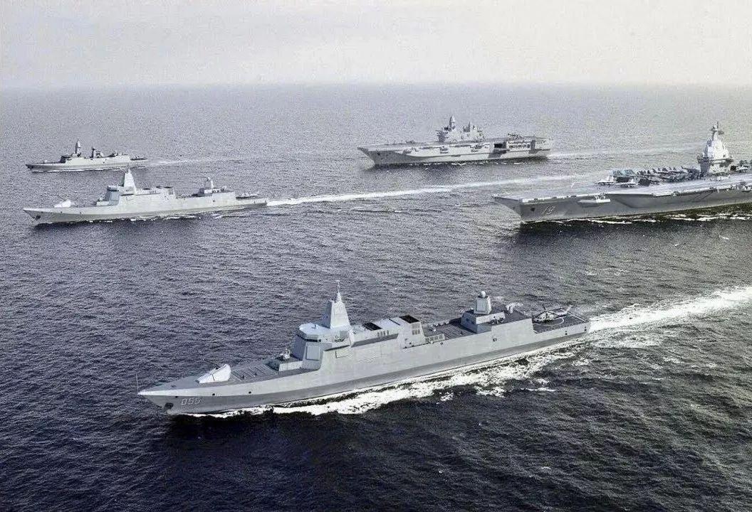 055大驱的加入对中国航母战力提升有多大?这项关键指标已和美国齐平