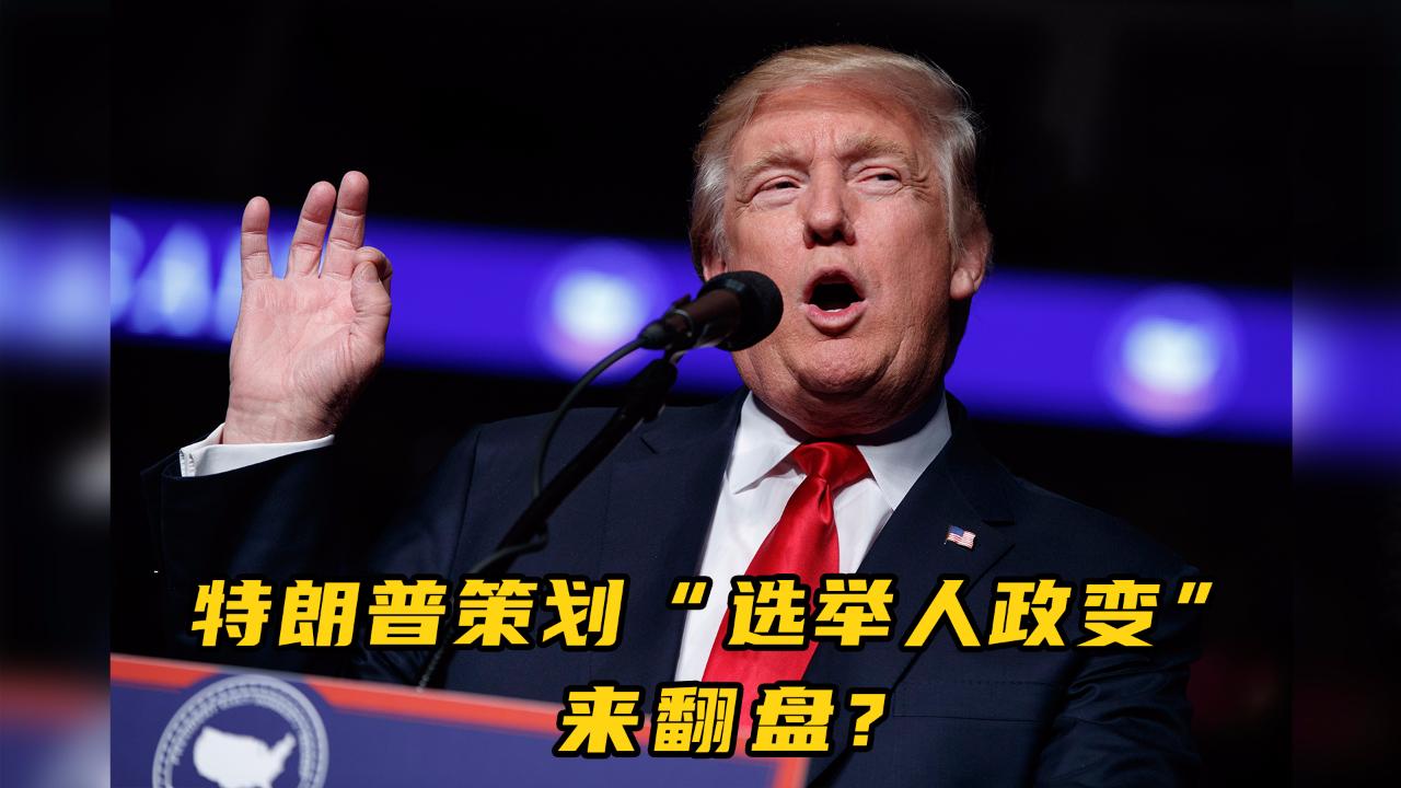 """特朗普策划""""选举人政变""""来翻盘 这是什么操作?"""