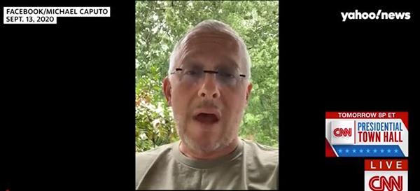 9月13日卡普托在脸书直播,视频截图