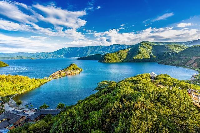 中国第三大深水湖泊:藏有神秘女儿国,是世界上最后的母系氏族