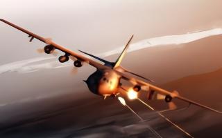"""美军调派""""空中炮艇""""对付伊朗 可对伊朗快艇进行扫射"""
