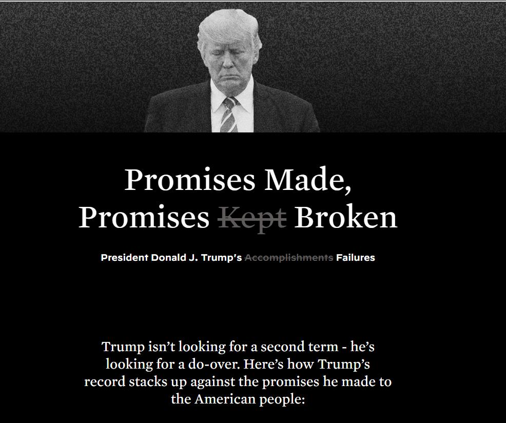 """【旺格子优化软件】_民主党购买""""让美国保持伟大""""域名,改造后专门罗列特朗普的失误"""