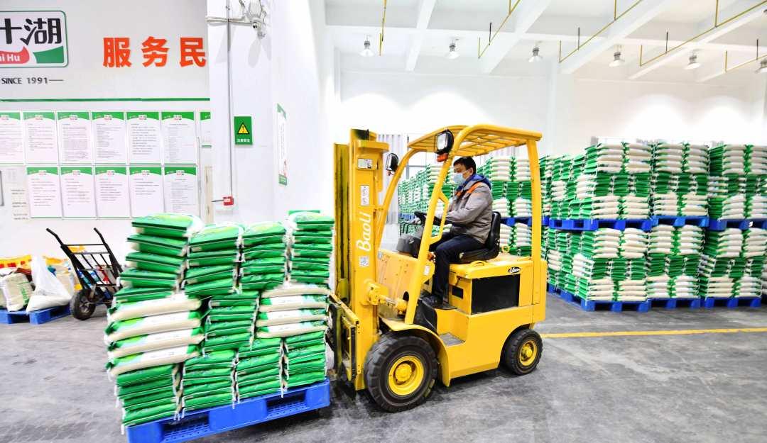 武汉粮油供应充足市民生活无忧