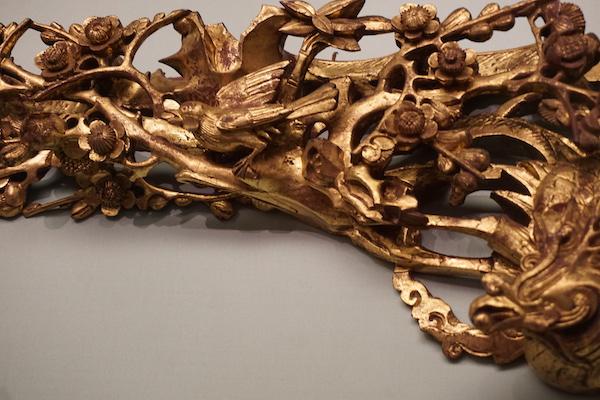 潮州木雕中的鹊鸟主题