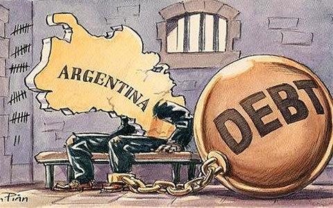 财政赤字和举债发展再次拖垮了阿根廷。