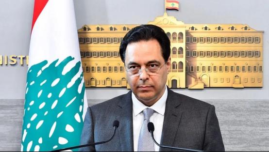黎巴嫩总理哈桑·迪亚卜(资料图)
