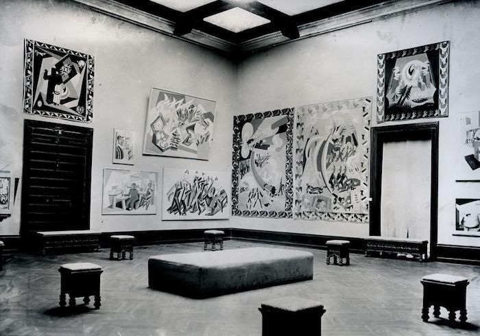 意大利未来主义展览,俄罗斯馆,1926