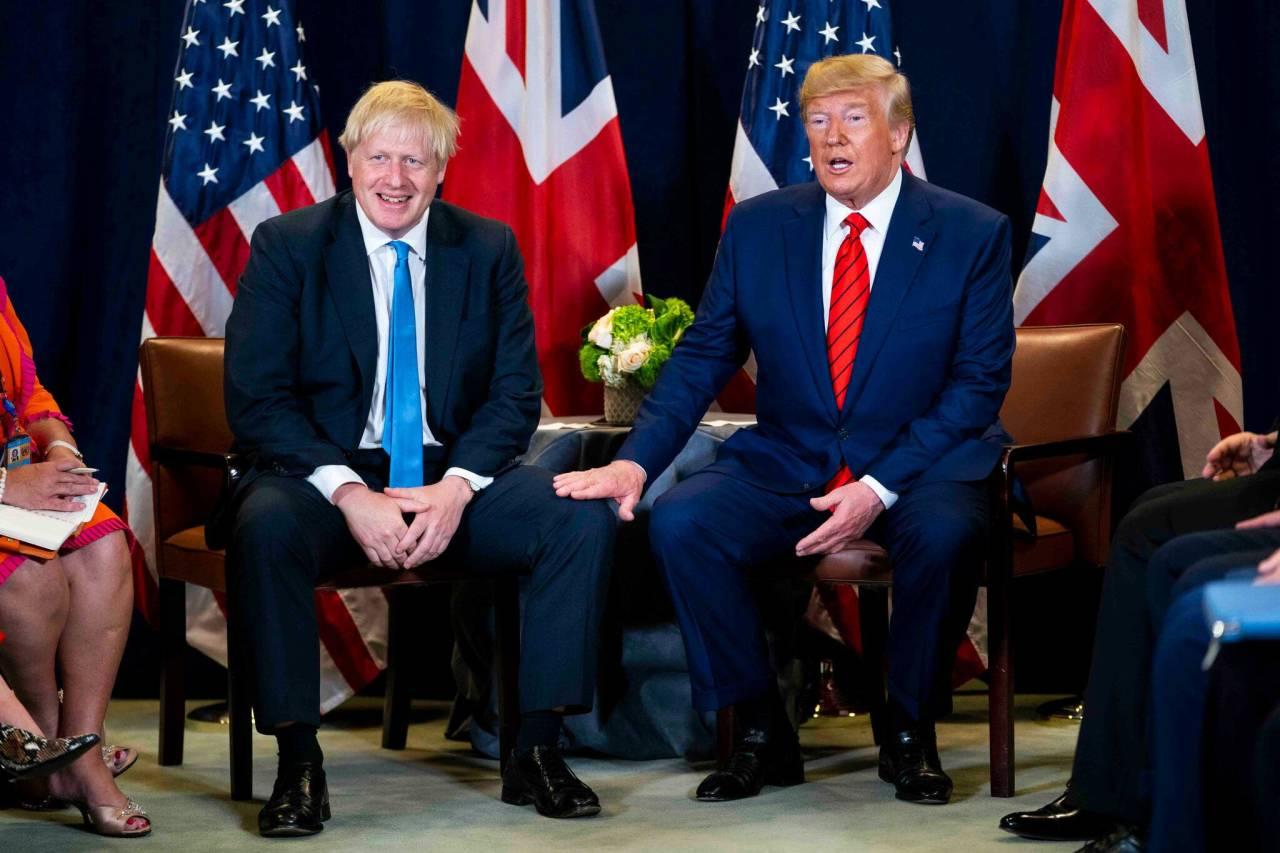 【彩乐园注册邀请码12340】_作为过来人,英首相约翰逊:特朗普会很快康复的