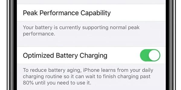 苹果iOS 13增设iPhone电池充电保护功能 将继续优化