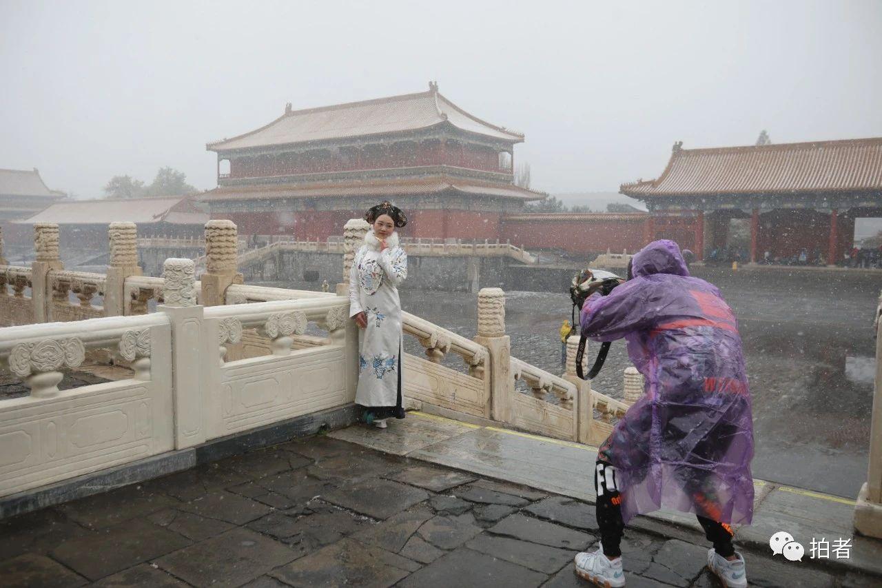 北京初雪最全图集来了!一文看遍城里城外 最新热点 第7张