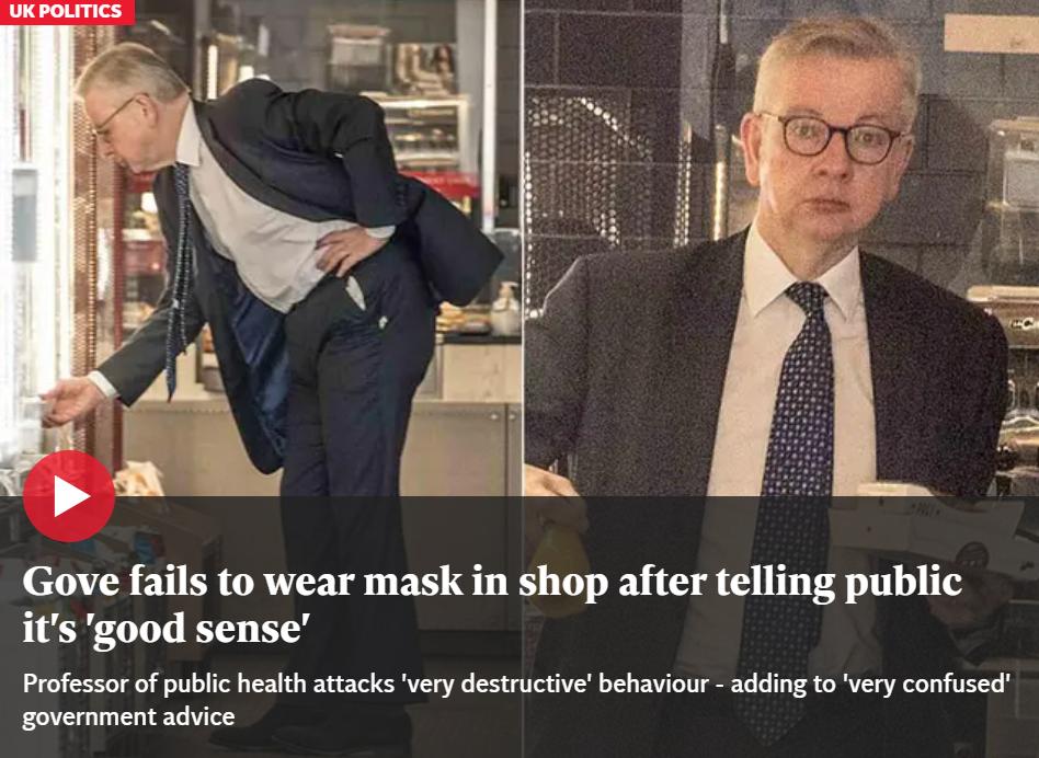 """【网站优化千牛帮】_说完""""戴口罩是礼节"""" 英内阁大臣就毫无防护逛起了商店"""
