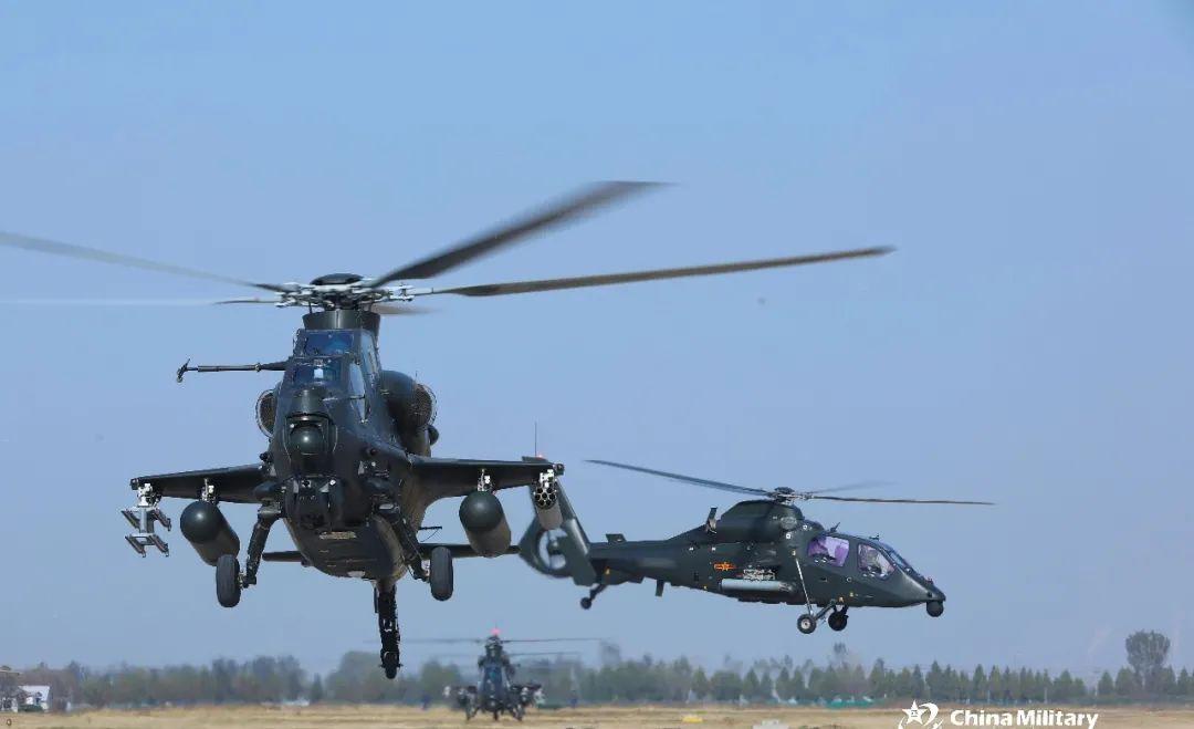 高低搭配的直-10和直-19武装直升机是如何作战的