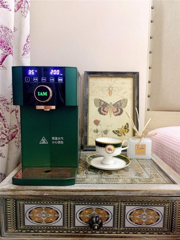 IAM即热饮水机:16档温控+智能夜灯,助妈妈轻松喂夜奶