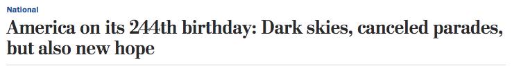 【厦门网站优化】_美国244岁生日:天空阴沉,游行取消,但乐观情绪上升