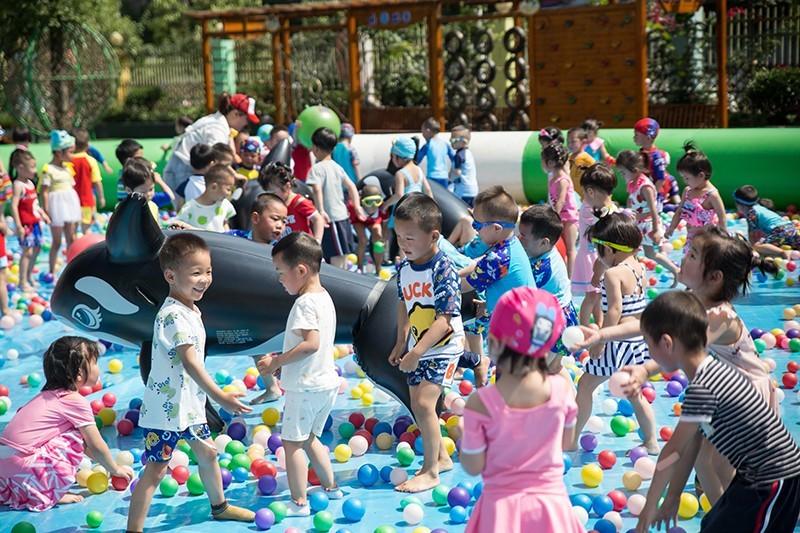 四川岳池:东湖幼儿园开展2020年六一嘉年华运动
