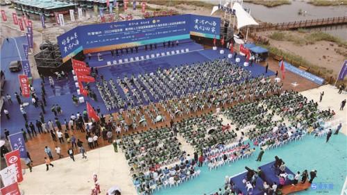 2020中国东营•黄河铁人三项冠军赛暨铁人运动旅游展示赛侧记