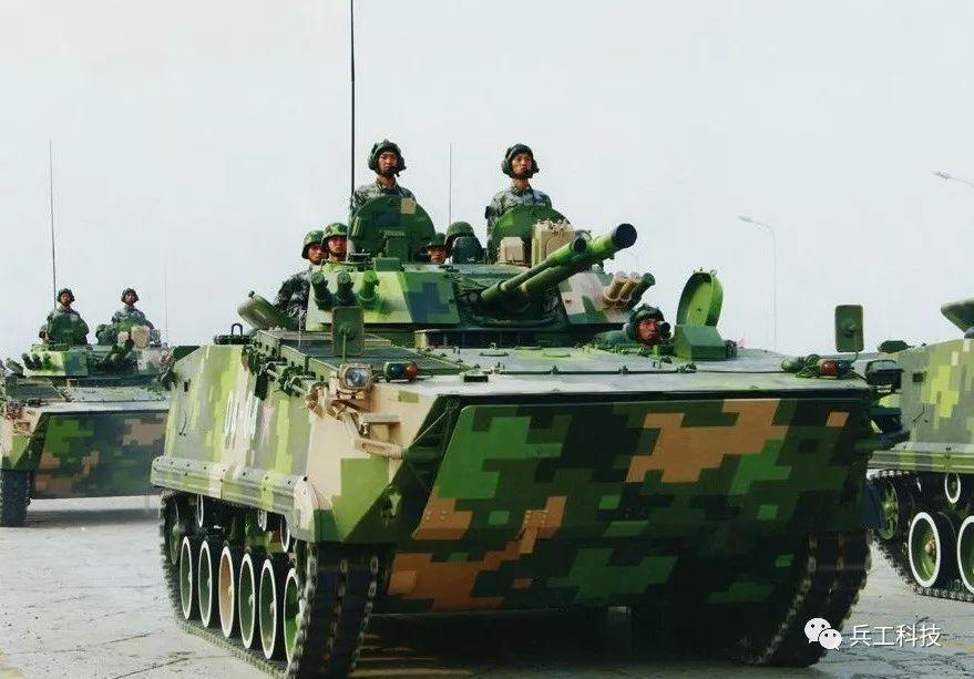 从轻型到重型,国产04A型步兵战车重点提升防护性能