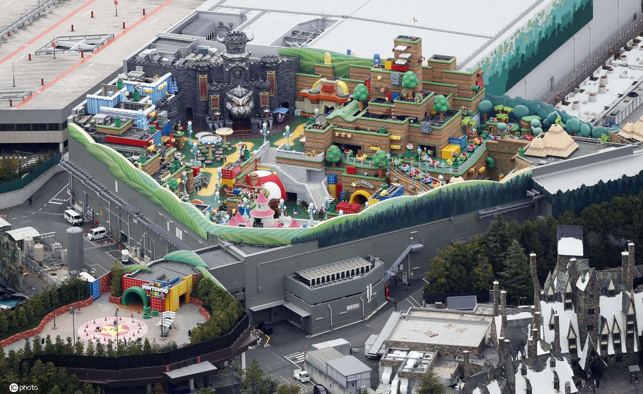 日本环球影城打造超级任天堂主题乐园将开业