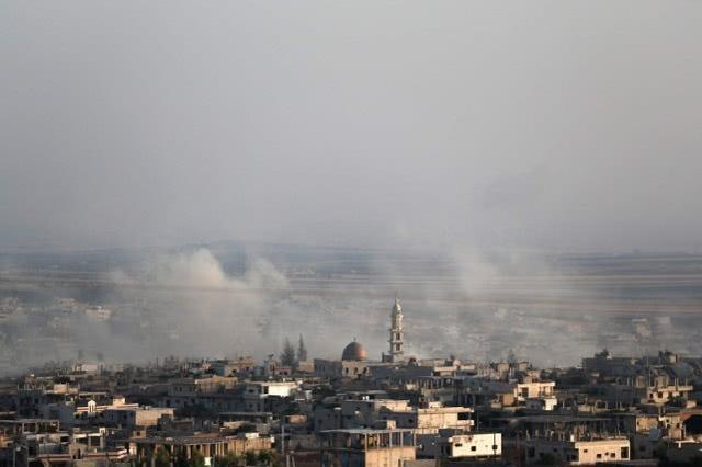 叙利亚武装分子袭击俄土巡逻队,俄轰炸机赶到后四散逃窜