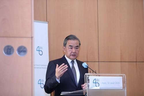 王毅:中国将坚持安静增长、开放增长、