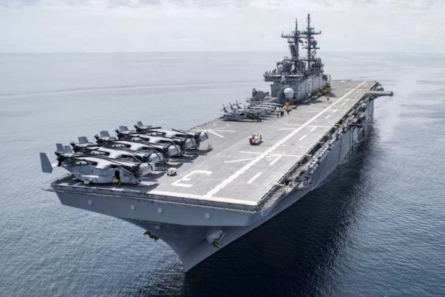 【资料图:美军两栖攻击舰】
