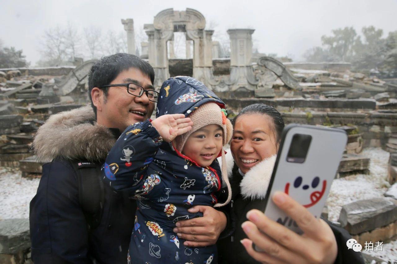 北京初雪最全图集来了!一文看遍城里城外 最新热点 第23张