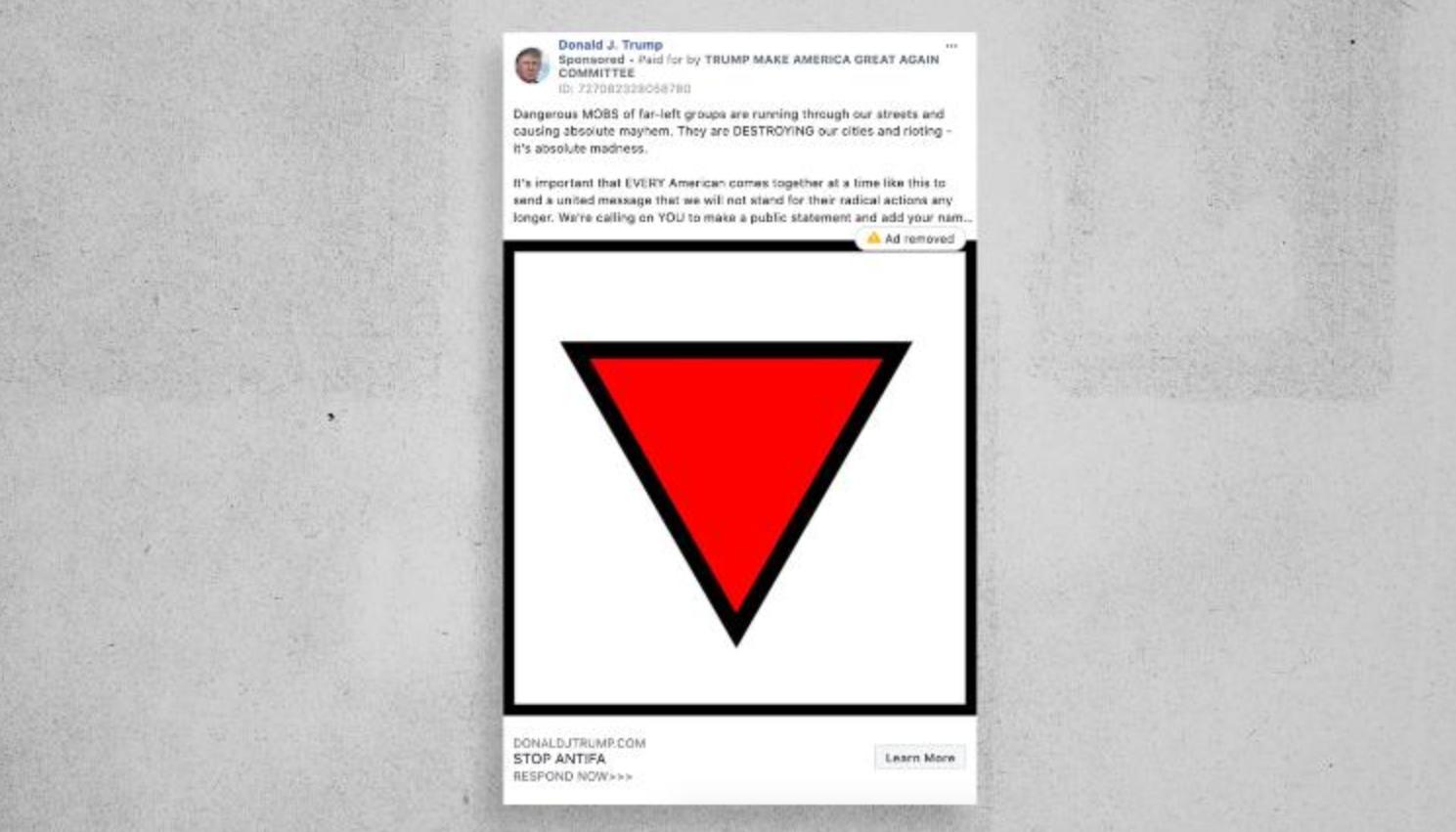 【12306ng】_脸书删除特朗普竞选团队广告:使用纳粹符号