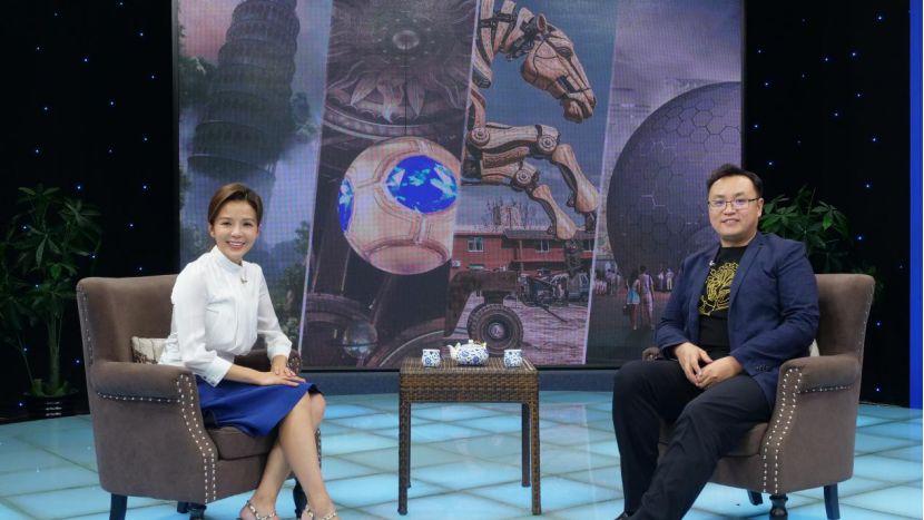 筑梦15年,大连博涛肖迪对话央视栏目《逐梦年代》畅谈文旅未来
