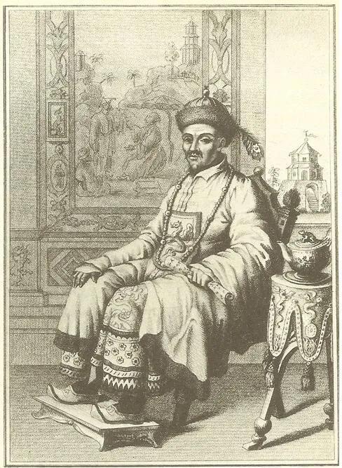 上图_ 乾隆皇帝(1736-1796在位)